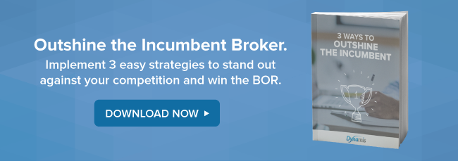Outshine the incumbent broker